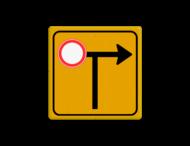 Tekstbord - Pijl Links/Rechts - Werk in uitvoering