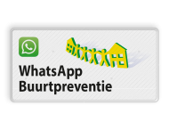 Verkeersbord L209e WhatsApp Buurtpreventie - 02
