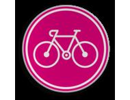 Logbord rond - Giro  Apeldoorn