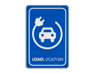 Parkeerbord LOADLOCATION - auto
