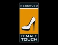 Parkeerbord Female Touch - Postillion