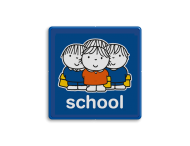 Dick Bruna - Attentiebord  school