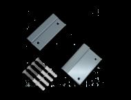 Wandhalterungssatz RAL7042 Aluminium