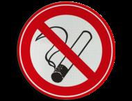 Verkeersbord C01_roken verboden OUD-1990