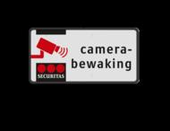 Camerabord rechthoek 2:1  reflecterend klasse 1 + full-colour opdruk