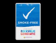SMOKE-FREE - Informatiebord - Op weg naar een Rookvrije generatie