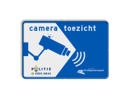 Cameratoezicht met logo / (bedrijfs)naam - BP11