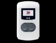 Eve Double Pro-Line met 2x socket op 2x voedingskabel / 3,7 - 22kW