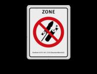 Vuurwerkbord  Zone + txt