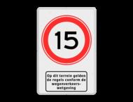 Verkeersbord RVV A01-xxx + picto - BT13