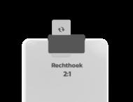 Basisbord omgezette rand - type 2:1 - rechthoek