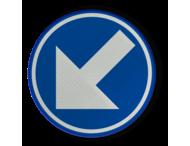 Verkeersbord RVV D1A - BELGIË