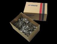 Edelstahlschnallen (100 Stück) für Edelstahl BANDIT 19mm