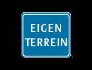 TBT EIGEN TERREIN 119x109mm - klasse 3