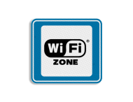 TBB WiFi-zone 119x109mm - klasse 3