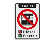 Informatiebord - Use Cooler Instructions