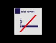 Stationsbord NS - niet roken