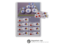 Informatiebord PBM - Eigen ontwerp - 1000x1300mm + 10 verwisselbare panelen