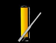 Vluchtheuvelbaken RVV BB22 aluminium + deksels ø48mm of ø76mm
