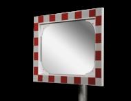 Verkeersspiegel veiligheidsglas 600x400mm
