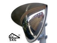 Kogelspiegel 900mm outdoor - kijkhoek 180° - SKG VV keurmerk