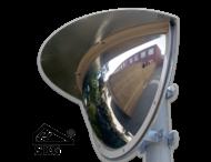 Kogelspiegel Ø900mm outdoor - kijkhoek 180° - SKG VV keurmerk