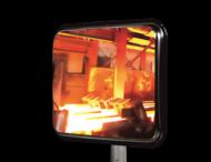 Hittebestendige industriespiegel 600x450mm