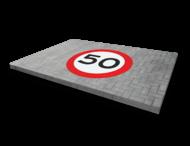 Thermoplast wegmarkering - RVV symbool rond