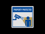 Veiligheidsbord met instructies | 1 symbool