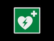 Reddingsbord E010 - AED