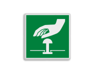 Reddingsbord E020 - Noodstop