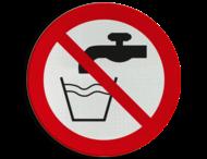 Pictogram P005 - Geen drinkwater