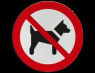 Pictogram P021 - Verboden voor honden