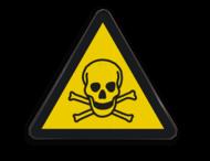 Pictogram W016 - Gevaar voor giftige stoffen