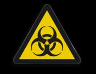 Pictogram W009 - Biologisch gevaar
