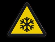 Pictogram W010 - Gevaar voor lage temperatuur en/of bevriezing