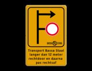 Informatiebord bedrijfsnaam/logo - verwijzing