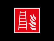 Haaks bord F003 - Ladder