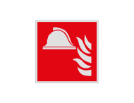 Haaks bord F004 - Brandbestrijdingsmiddelen