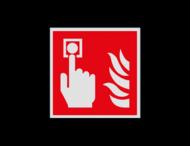 Haaks bord F005 - Brandmelder