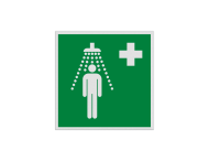 Pictogram E012 - Nooddouche