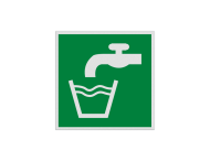 Pictogram E015 - Drinkbaar water