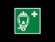 Pictogram E029 - Ademhalingsapparaat voor noodevacuatie