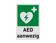 Pictogram E010 - AED aanwezig