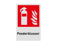 Pictogram F001 - Poederblusser