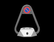 Parkeerbeugel automatisch SmartSolar - afstandsbediening via app