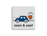 Dick Bruna - Attentiebord zoen & zoef