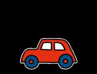 Dick Bruna - Silhouetbord auto