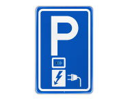 Parkeerbord RVV E08o - oplaadpunt - Clean Power Solutions