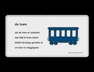 Dick Bruna - Lesbord - de tram